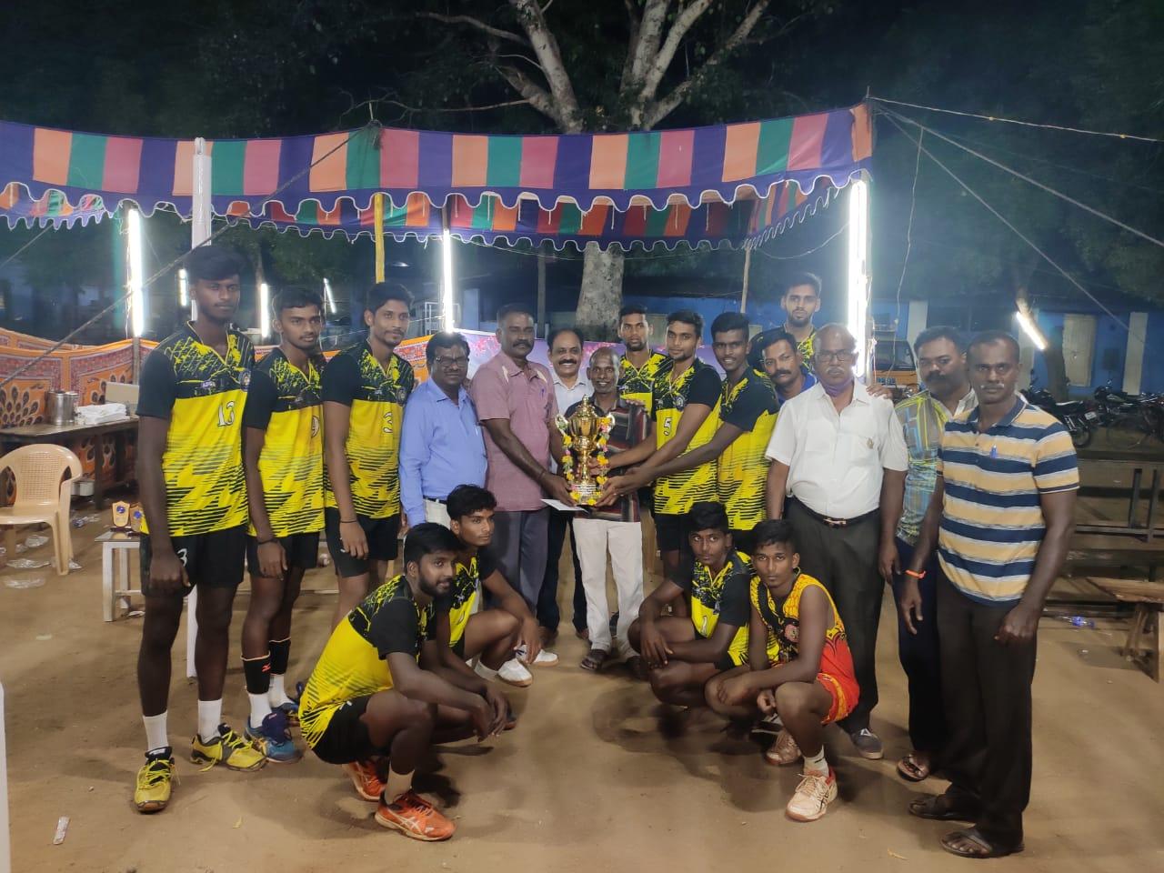 RCVC Winners on Mamsapuram Annual Tournament- 04 Oct 2020